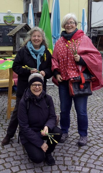 Doris Popp, Gabi Redlbauer, Tanja Campbell
