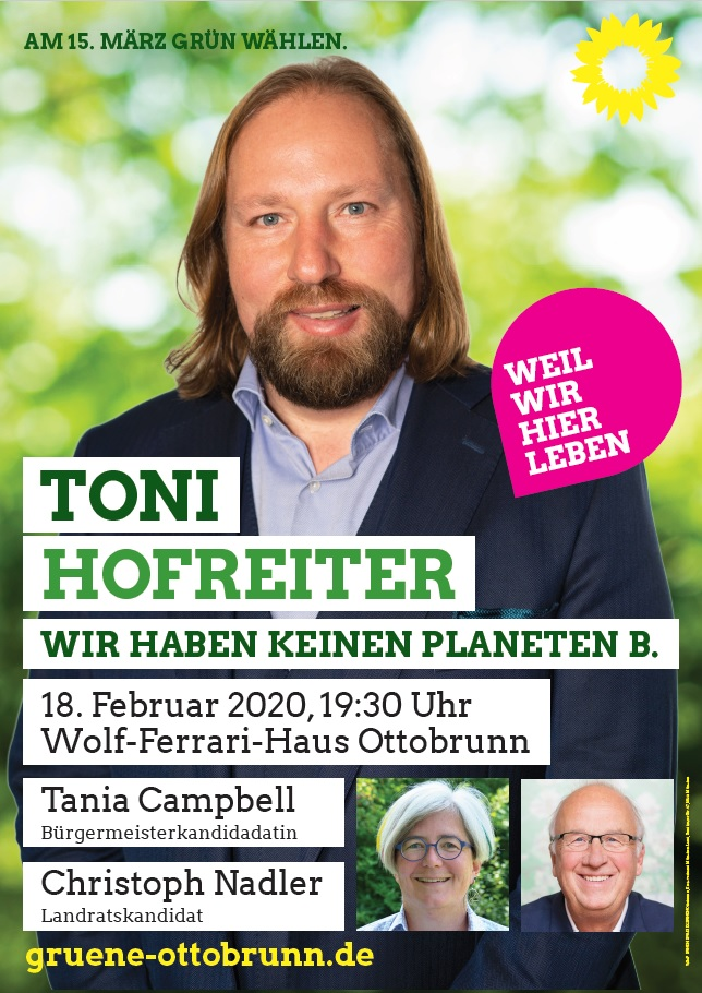 Toni Hofreiter, Tania Campbell